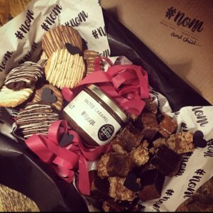 #nom and chill: The Ultimate Lockdown Couples Share Box